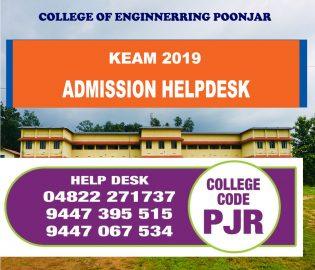 KEAM 2019 - Helpdesk at CE Poonjar